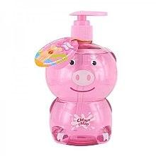 Parfums et Produits cosmétiques Gel douche et bain à l'arôme de gelée de fraise pour enfants, Cochon - Chlapu Chlap Bath & Shower Gel