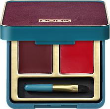 Parfums et Produits cosmétiques Palette de rouges à lèvres - Pupa Retro Retro illusion Lip Palette