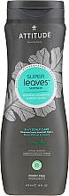 Parfums et Produits cosmétiques Shampooing et gel douche à l'extrait de moringa - Attitude Super Leaves Natural Shampoo & Body Wash 2-in-1 Scalp Care