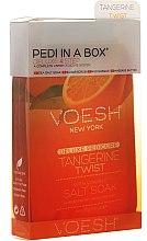 Parfums et Produits cosmétiques Kit pédicure Mandarine - Voesh Deluxe Pedicure Tangerine Twist Pedi In A Box 4 in 1