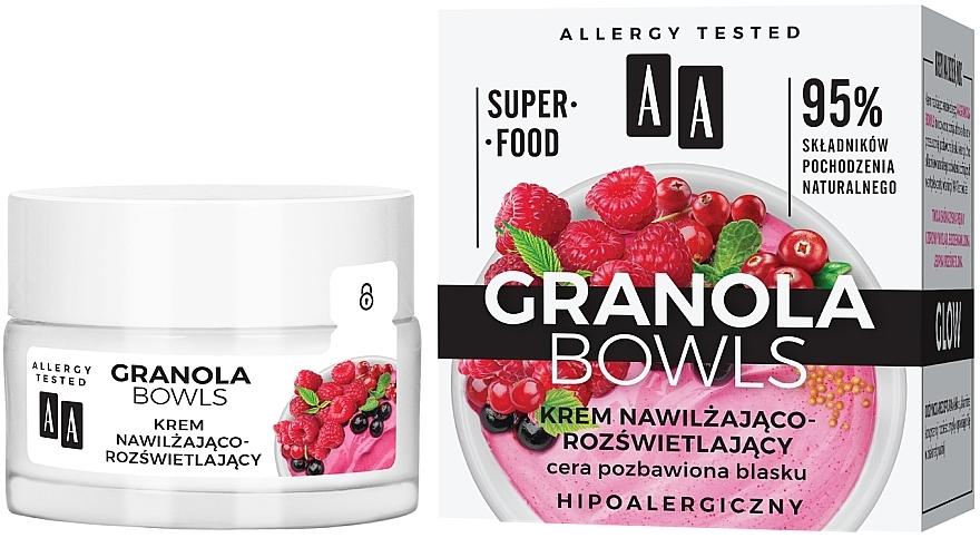 Crème hydratante pour visage - AA Granola Bowls — Photo N1
