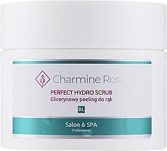 Parfums et Produits cosmétiques Gommage à la glycérine pour mains - Charmine Rose Perfect Hydro Scrub