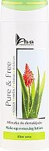 Parfums et Produits cosmétiques Lotion démaquillante à l'aloe vera - AVA Laboratorium Pure & Free Make-up Removing Lotion