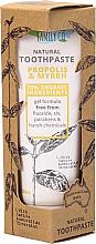 Parfums et Produits cosmétiques Dentifrice naturel à la propolis et myrrhe - The Natural Family Co Propolis & Myyrh Toothpaste
