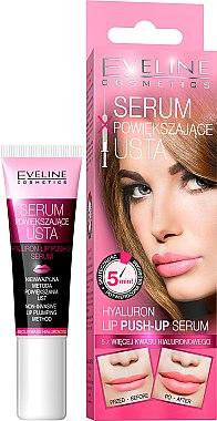 Sérum repulpant à l'acide hyaluronique pour lèvres - Eveline Cosmetics Hyaluron Lip Push-up Serum