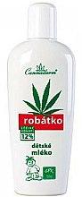 Parfums et Produits cosmétiques Lait hydratant au chanvre pour enfants - Cannaderm Robatko