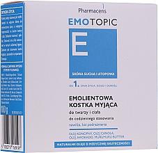 Parfums et Produits cosmétiques Savon lavant émollient visage et corps, dès la naissance et adultes - Pharmaceris E Emotopic Soap