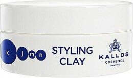 Parfums et Produits cosmétiques Argile coiffante - Kallos Cosmetics KJMN Styling Clay