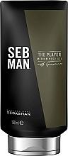 Parfums et Produits cosmétiques Gel coiffant et fixant - Sebastian Professional SEB MAN The Player Medium Hold Gel