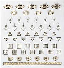 Parfums et Produits cosmétiques Autocollants décoratifs pour ongles, 1 pcs - Peggy Sage DecorativeNail Stickers Jewels