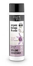 Parfums et Produits cosmétiques Après-shampooing naturel - Organic Shop Organic Sandal and Indian Nut Volume Conditioner