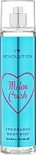 """Parfums et Produits cosmétiques Brume parfumée pour le corps """"Melon Crush"""" - Makeup Revolution Body Mist Melon Crush"""