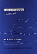 Parfums et Produits cosmétiques Masque hydrogel pour lèvres - Infracyte Luscious Lips Anti-Aging Lip Treatment