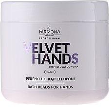 Parfums et Produits cosmétiques Perles de bain à l'arôme de lys et lilas pour mains - Farmona Express Repair Bath Beads