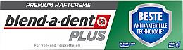 Parfums et Produits cosmétiques Crème adhésive pour prothèse dentaire - Blend-A-Dent Premium Adhesive Cream Plus Dual Protection Fresh