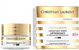 Parfums et Produits cosmétiques Crème liftante comblant les rides 45+ - Christian Laurent Pour La Beaute Face Cream 45+