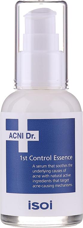 Sérum à l'acide hyaluronique pour visage - Isoi Acni Dr. 1st Oil Control Clearing Essence — Photo N1