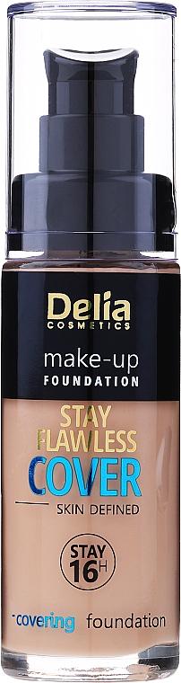 Fond de teint longue tenue - Delia Cosmetics Stay Flawless Cover