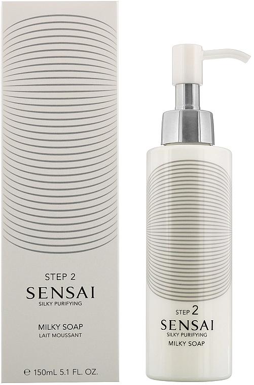 Lait moussant pour visage - Kanebo Sensai Milky Soap — Photo N1