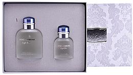 Parfums et Produits cosmétiques Dolce&Gabbana Light Blue pour Homme - Coffret (eau de toilette/125ml + eau de toilette/40ml)
