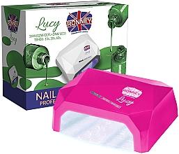 Parfums et Produits cosmétiques Lampe CCFL + LED, rose foncé - Ronney Profesional Lucy CCFL + LED 38W (GY-LCL-021) Lamp