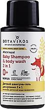 Parfums et Produits cosmétiques Shampooing et gel douche à l'hamamélis - Botavikos Baby Shampoo And Body Wash 2 in 1