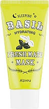Parfums et Produits cosmétiques Masque à l'extrait de basilic pour visage - A'pieu Fresh Mate