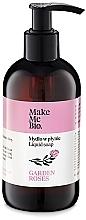 Parfums et Produits cosmétiques Savon liquide à l'eau de rose et aux huiles - Make Me Bio Garden Roses Soap
