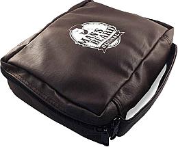 Parfums et Produits cosmétiques Trousse de toilette homme, cuir synthétique, MB212 - Man's Beard Men's Toiletry Bag Synthetic Leather Brown