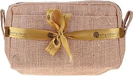 Parfums et Produits cosmétiques Coffret cadeau - Shy Deer (trousse + lotion tonique/200ml + sérum visage/1.5ml + gel visage/100ml + bougie/165g + masque visage/50ml + accessorie)