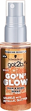 Parfums et Produits cosmétiques Spray brillant pour corps et cheveux - Schwarzkopf Got2b Go N Glow Hair & Body Spray