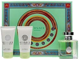 Parfums et Produits cosmétiques Versace Versense - Coffret (eau de toilette/50ml + lotion corporelle/50ml + gel douche/50ml)