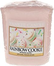 Parfums et Produits cosmétiques Bougie parfumée votive Fantaisies sucrées - Yankee Candle Rainbow Cookie Votive Candle