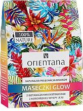 Parfums et Produits cosmétiques Set - Orientana Glow Natural Face Mask (masque visage naturelle/3x30ml)