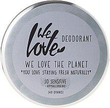 Parfums et Produits cosmétiques Déodorant crémeux naturel - We Love The Planet Deodorant So Sensitive