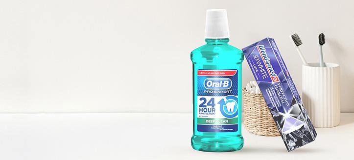 Lors de l'achat de produits des marques Blend-a-med, Blend-A-Dent et Oral-B à partir de 6 €, vous recevrez un dentifrice en cadeau