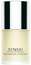 Parfums et Produits cosmétiques Sérum liftant et raffermissant à l'extrait de racines de mûrier pour buste et décolleté - Kanebo Sensai Cellular Performance Throat and Bust Lifting Effect