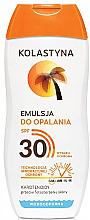 Parfums et Produits cosmétiques Emulsion solaire woterproof - Kolastyna Suncare Emulsion SPF 30