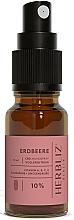 Parfums et Produits cosmétiques Spray buccal à l'huile de CBD 10%, Fraise - Herbliz CBD Oil Mouth Spray 10%