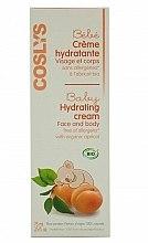 Parfums et Produits cosmétiques Crème à l'abricot bio pour visage et corps - Coslys Baby Care Baby Hydrating Creamwith Organic Apricot Oil
