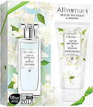 Parfums et Produits cosmétiques Allvernum Lily Of The Valley & Jasmine - Set Muguet et Jasmin (eau de parfum/50ml + lotion corporelle parfumée/200ml)