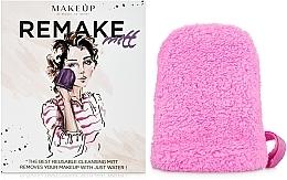 Parfums et Produits cosmétiques Gant démaquillant ReMake, rose, 15x12cm - MakeUp