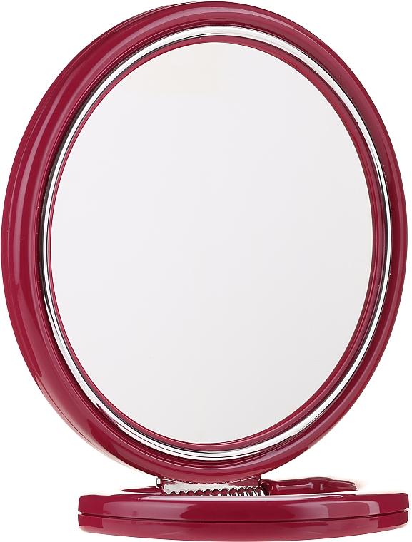 Miroir à poser double face 9509 rouge, 18,5 cm - Donegal Mirror — Photo N1