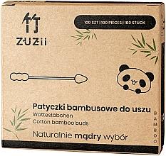 Parfums et Produits cosmétiques Bâtonnets sécurité en bambou pour bébé - Zuzii Bamboo Cotton Buds