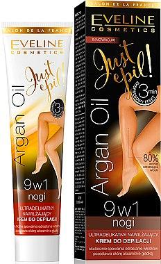 Crème dépilatoire à l'huile d'argan pour jambes - Eveline Cosmetics Argan Oil