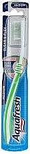 Brosse à dents, médium, vert clair - Aquafresh Clean & Flex — Photo N1