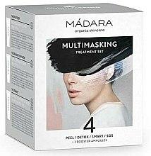 Parfums et Produits cosmétiques Coffret cosmétique visage - Madara Cosmetics Multimasking Treatment Set (masques/12,5ml*4 + ampules/3ml*2)