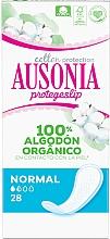 Parfums et Produits cosmétiques Protège-slips, 28pcs - Ausonia Cotton Protection Normal