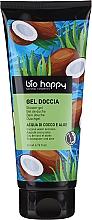 Parfums et Produits cosmétiques Gel douche, Aloe vera et eau de coco - Bio Happy Shower Gel Coconut Water And Aloe