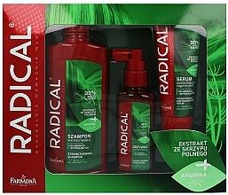 Parfums et Produits cosmétiques Set cheveux - Farmona Radical (shampooing/400ml + après-shm/100ml + sérum/100ml)